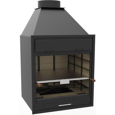 Barbecue charbon bois FM BF-70 à poser ou à encastrer