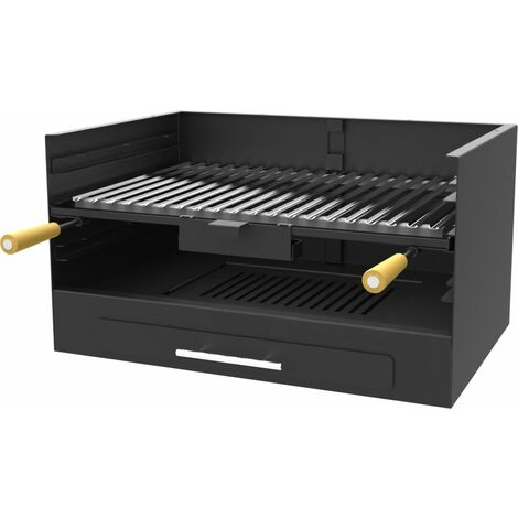 Barbecue charbon bois FM BV-10 à poser ou à encastrer