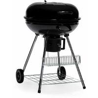 """Barbecue charbon de bois """"Midnight"""" - 68 x 58 x 90 cm - Noir"""