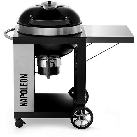 Barbecue charbon de bois Napoleon Rodéo Pro 57 cm sur chariot
