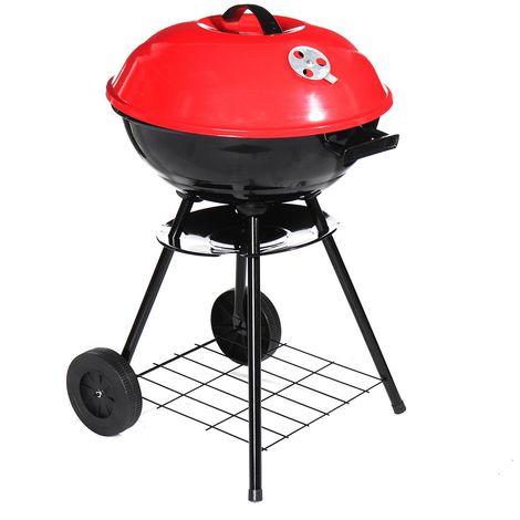 Barbecue charbon de bois portable 43cm barbecue pliant cuisinière Camping