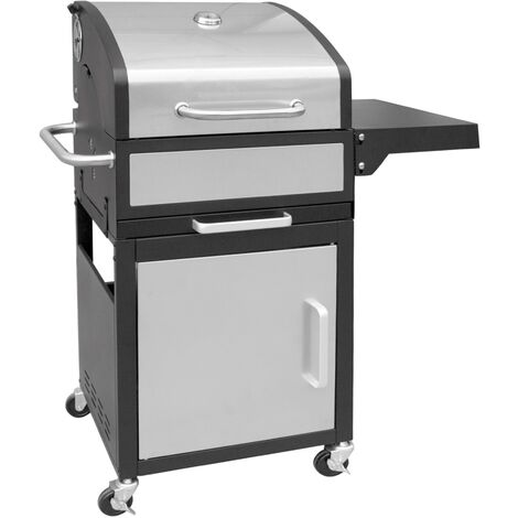 """main image of """"Barbecue charbon + grille + thermomètre + couvercle LANDMANN GRILLCHEF 11517"""""""