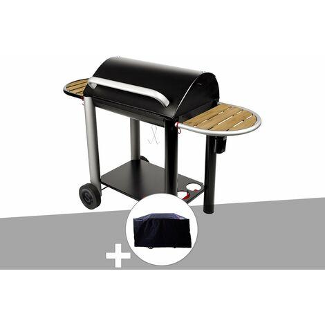 Barbecue charbon Vulcano 3000 Somagic + Housse