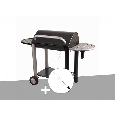 Barbecue charbon Vulcano 3000 Somagic + Kit tournebroche