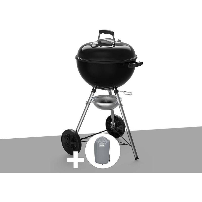 Barbecue à charbon Original Kettle E-4710 47 cm + Housse - Weber