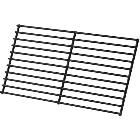 Barbecue cooking grate - 40 x 20 cm - Black