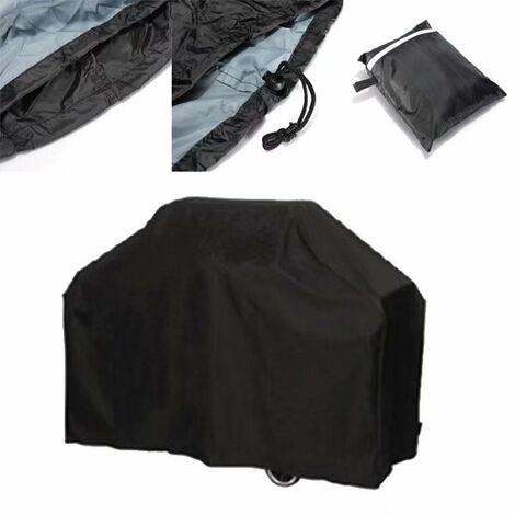 Barbecue cover, barbecue barbecue impermeable - Oxford fabric barbecue cover does not discolor tarpaulin BBQ cover for 145x117x61cm)