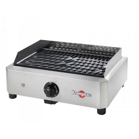 barbecue électrique posable 1700w - gecim1oa00 - krampouz