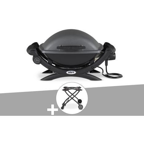 Barbecue électrique Q 1400 + Chariot - Weber