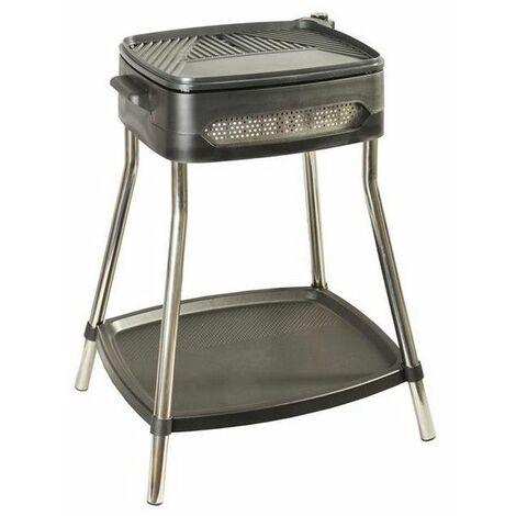 barbecue électrique sur pieds 2000w - kcpbbq0906 - kitchen chef