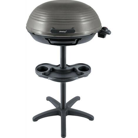 barbecue électrique sur pieds 2000w noir - vg325 - steba