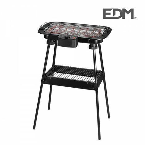 Barbecue électrique sur pieds 38x22cm edm