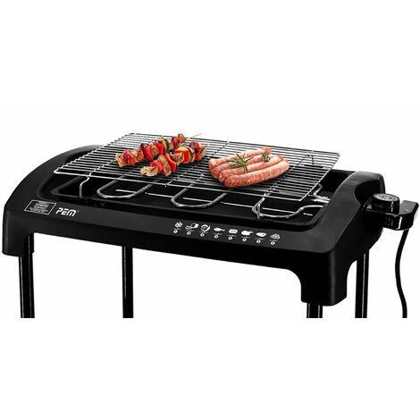 Barbecue électrique sur pieds ou posable 2000W - PEM PG-212