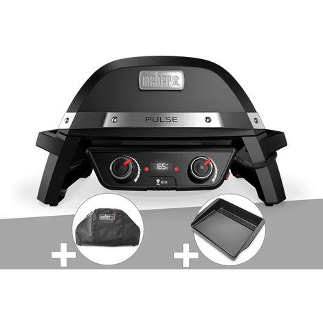 Barbecue électrique Weber Pulse 2000 + Housse + Plancha
