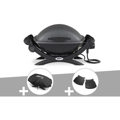 Barbecue électrique Weber Q 1400 + Housse + Plan travail