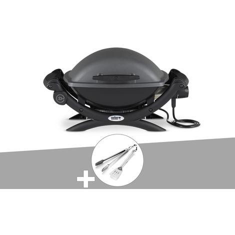 Barbecue électrique Weber Q 1400 + Kit Ustensile