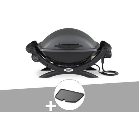 Barbecue électrique Weber Q 1400 + Plancha