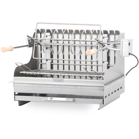 Barbecue Exclusive Mendy 54*32 Inox LE MARQUIER - Inox