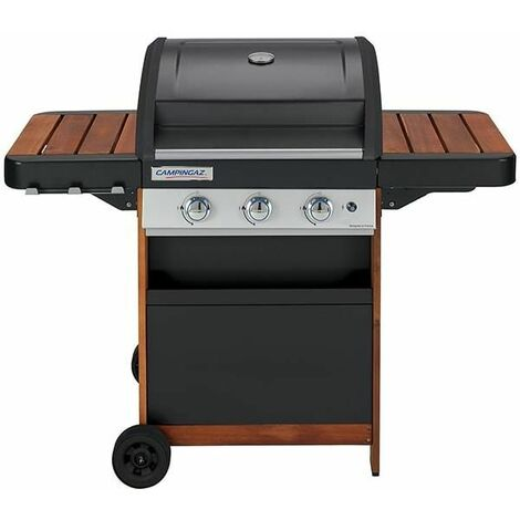 Barbecue gaz Campingaz 3 Séries Woody + Plancha offerte
