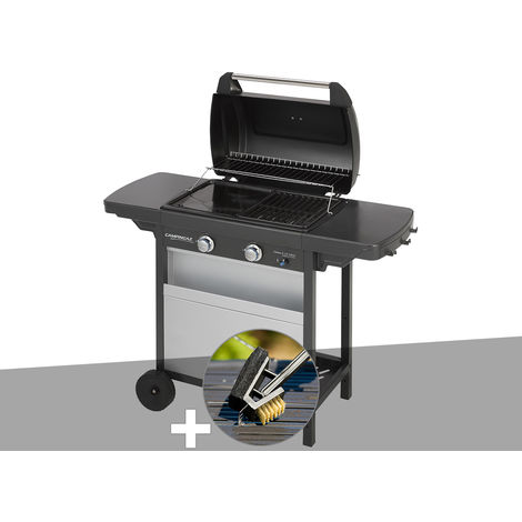 Barbecue gaz Campingaz Class 2 LX Vario + Brosse de nettoyage