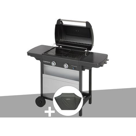 Barbecue gaz Campingaz Class 2 LX Vario + Housse protection Premium