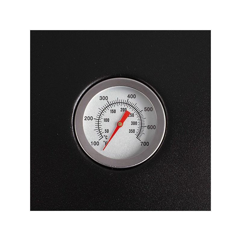 Barbecue gaz grill et plancha DELTA 133x57x98 cm DOC208