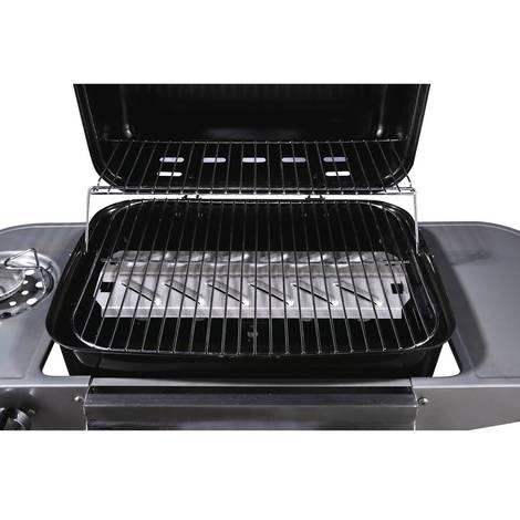 Barbecue gaz Party 3 3 brûleurs dont 1 latéral 9.38 kW