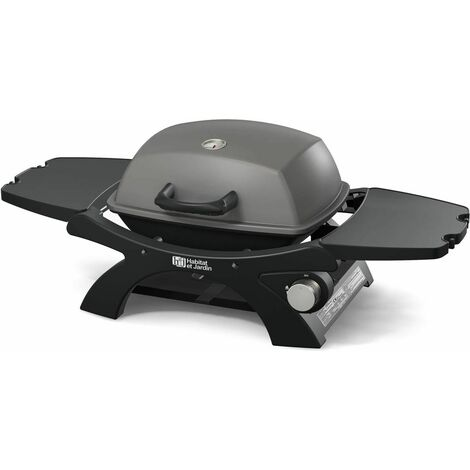 "Barbecue gaz ""Patio"" - 3.2kW - Gris"