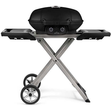 Barbecue gaz portatif Napoleon Travel Q sur chariot