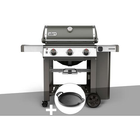 Barbecue gaz Weber Genesis II E-310 GBS Gris + Plancha
