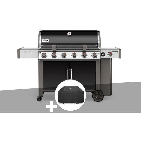 Barbecue gaz Weber Genesis II LX E-640 GBS Noir + Housse