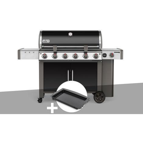 Barbecue gaz Weber Genesis II LX E-640 GBS Noir + Plancha