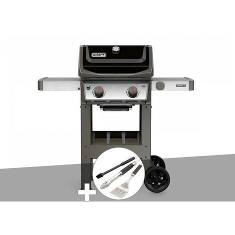 Barbecue gaz Weber Spirit II E-210 GBS + Kit ustensiles 3 pièces Better