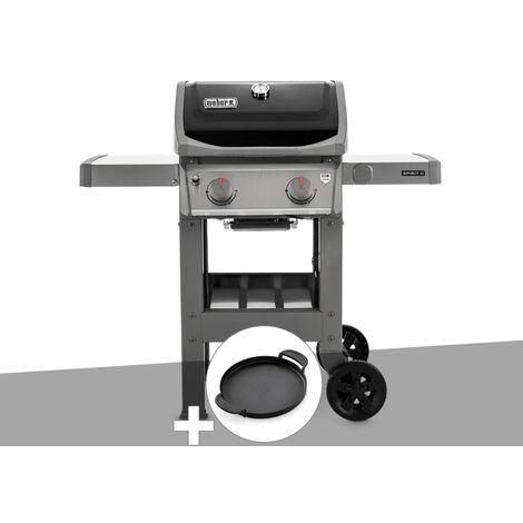 Barbecue gaz Weber Spirit II E-210 GBS + Plancha + Housse OFFERTE