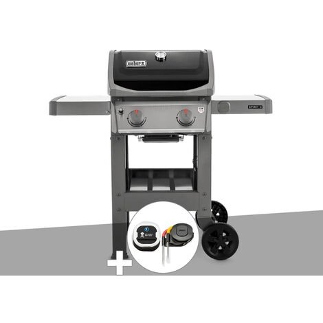 Barbecue gaz Weber Spirit II E-210 GBS + Thermomètre IGrill 3