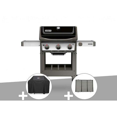Barbecue gaz Weber Spirit II E-310 + plancha + Housse + 1/2 grille de cuisson