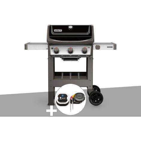 Barbecue gaz Weber Spirit II E-310 + plancha + Thermomètre IGrill 3