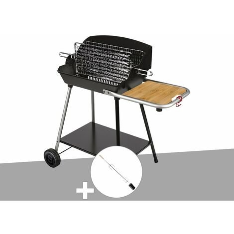 Barbecue horizontal et vertical Excel Grill DUO + Tournebroche