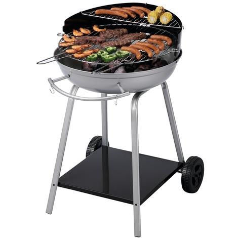 Barbecue Mooréa à charbon de bois Friodis - Diamètre 52 cm - Noir