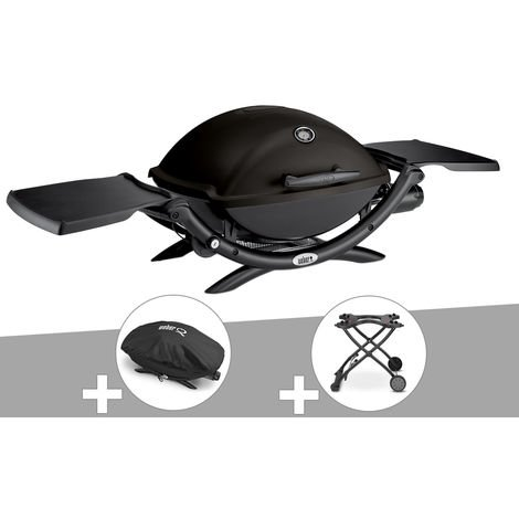 Barbecue Q 2200 + Chariot + Housse - Weber