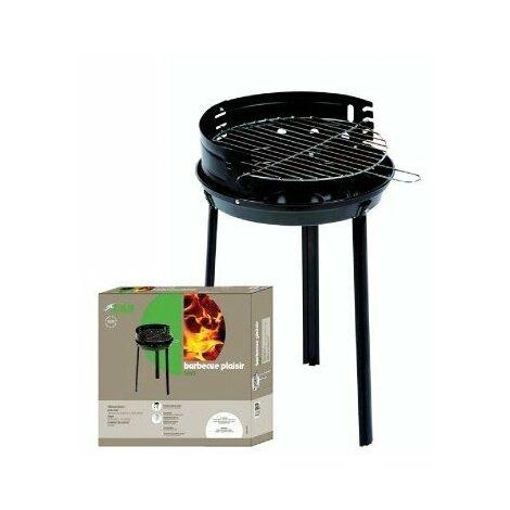 "main image of ""Barbecue rond acier 'plaisir' bg 38 x 57"""