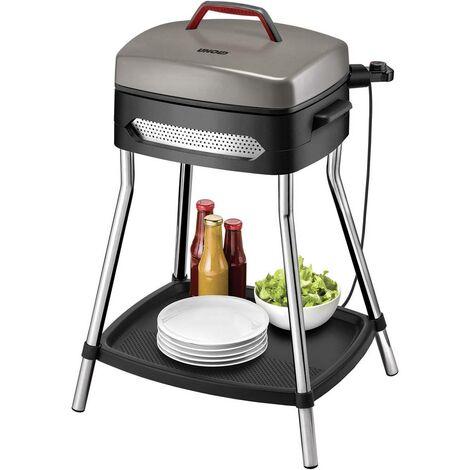 Barbecue sur pied Unold Barbecue Power Grill 58580 électrique avec réglage manuel de la température noir, argent 1 pc(s)
