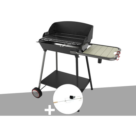 Barbecue vertical Excel Grill + Tournebroche