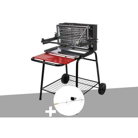 Barbecue vertical Raymond + Tourne broche