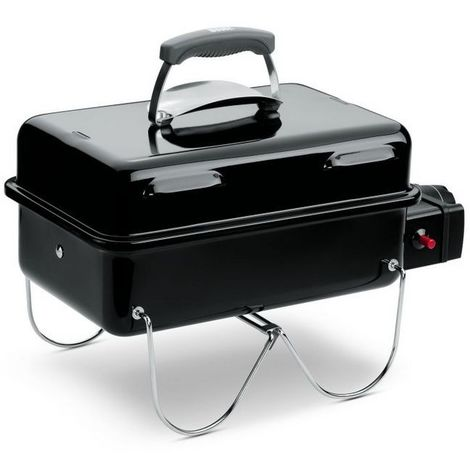 Barbecue Weber à Gaz Go Anywhere (à Cartouches) Noir Réf. 1141056