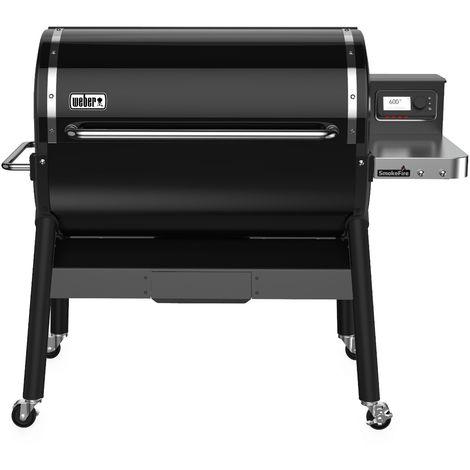 Barbecue Weber à Pellets Smoke Fire EX6' Black Réf. 23511004