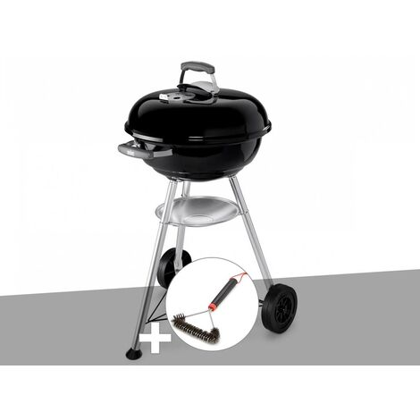 Barbecue Weber Compact Kettle 47 cm + Brosse