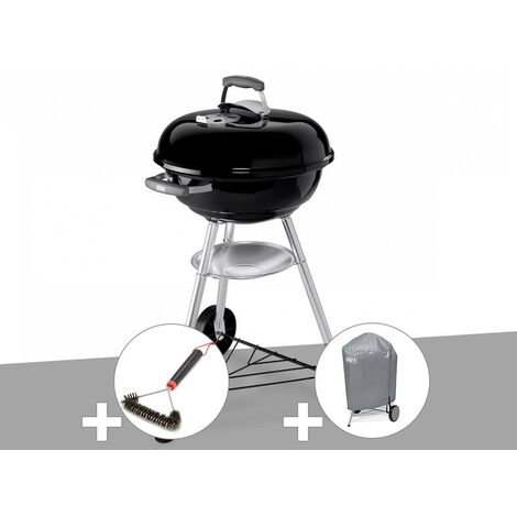 Barbecue Weber Compact Kettle 47 cm + Brosse + Housse
