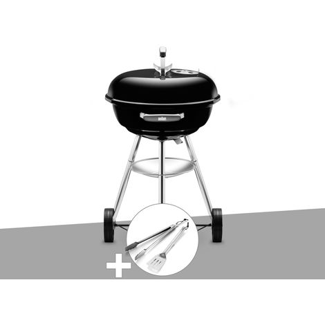Barbecue Weber Compact Kettle 47 cm + Kit Ustensile