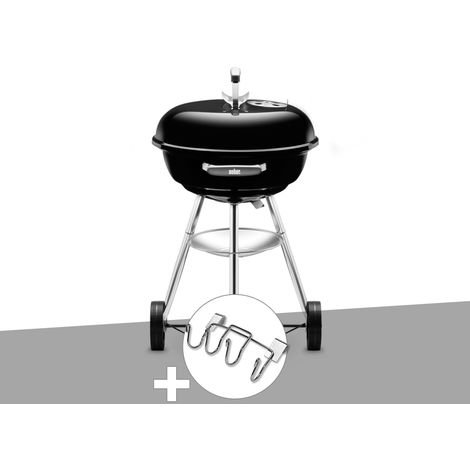 Barbecue Weber Compact Kettle 47 cm + Support Accessoires